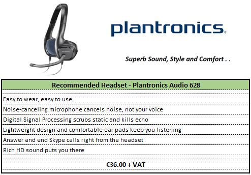Pantronics Headset Nuance Voice Recognition